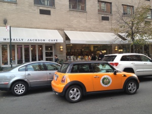 The Bookworks MINI outside McNally Jackson